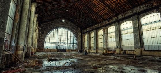 A Forbach, une usine désaffectée devenue un lieu d'«exploration urbaine». Urban exploring in France / 55Laney69 via Flickr CC License By